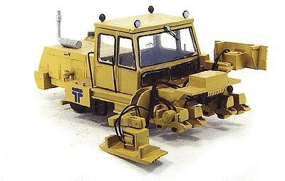 Maintenance-of-Way (MOW) / Work Train Equipment (Unpainted Metal Kit) -- Tamper Model CSC Crib & Shoulder/Ballast Compactor - HO-Scale Custom Finishing Model Train Roadway Airplane - HO Scale