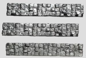 Model Railstuff Crushed Aluminum Bales (One-Piece, Painted Plaster