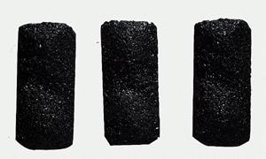 Model Railstuff Coal Loads (One-Piece, Painted Plaster Castings) --
