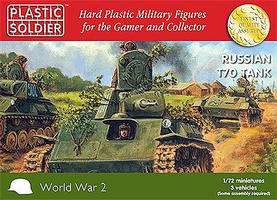 Product Review: Plastic Soldier Company Russian T70 Tank ~ WWPD ...