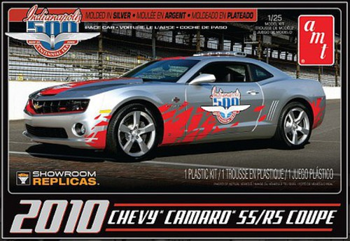 Amt Amt893 125 2010 Chevy Camaro Ssrs Indy 500 Pace Car Plastic