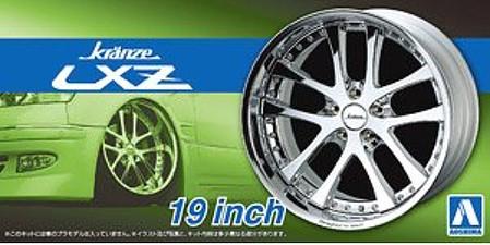 1/24 Kranze LXZ 19 Tire & Wheel Set (4)