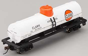 Bachmann Industries Clark HO Scale 40 Single Dome Tank Car
