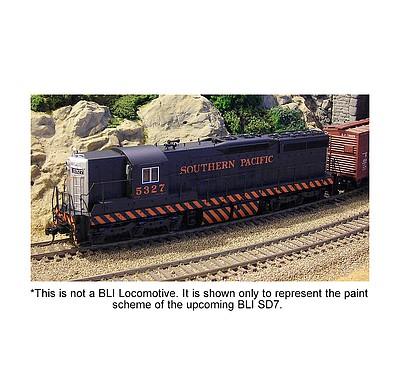 ho emd sd 7 p3 sp 5280 bro4949 broadway ho scale model train diesel locomotives hobbylinc