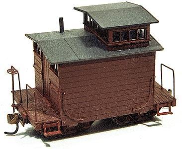 DURANGO 22 Hon3 Scale Railroad Hand Car Unpainted Metal Train Kit FREE SHIP