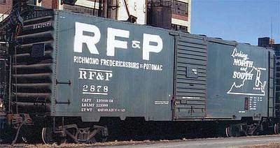 KADEE 4321 RICHMOND HO Scale FREDERICKSBURG /& POTOMAC 40/' PS-1 Boxcar # 2878