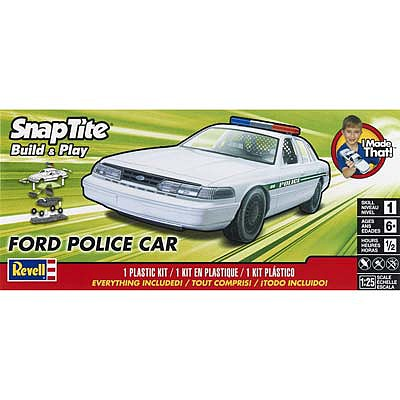 25/Scale Snaptite Ford Police Expedition Vehicle Revell Monogram 1