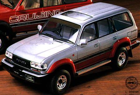 Tamiya 1//24 Sports Car Series No.107 Toyota Land Cruiser 80 VX Limited 24107