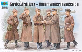 Trumpeter 1//35 WWII Soviet Assault Red Army with Winter Gear 414