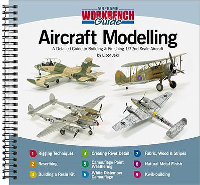 Guide to Building & Finishing 1/72 Scale Aircraft Authentic Scale Model  Airplane Book #aw1